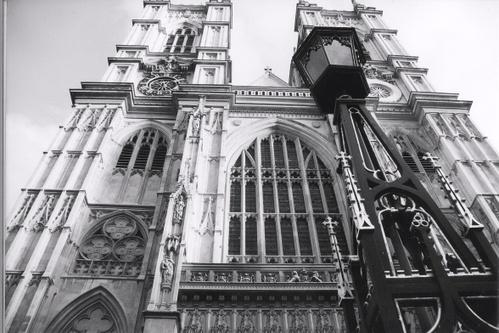 Westminster Abbey, facade