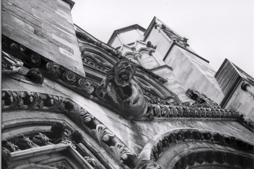 Detail of Westminster Abbey