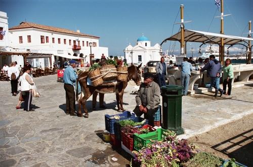 Market day - Mykonos Town, Mykonos