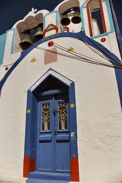 Church in Thirassia - island near Santorini