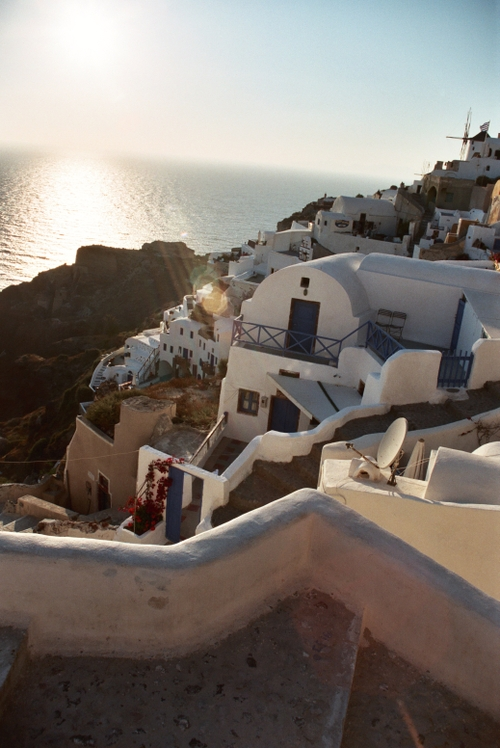 Ia, Santorini, before sunset